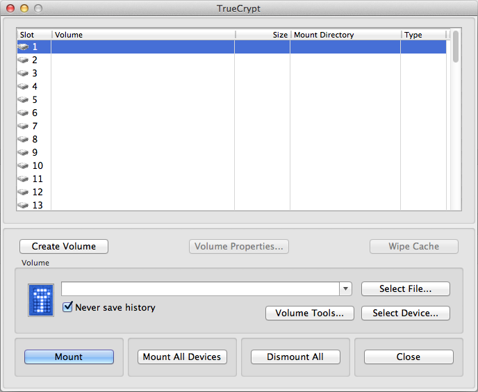 Build TrueCrypt on OS X 64 bit with hardware acceleration